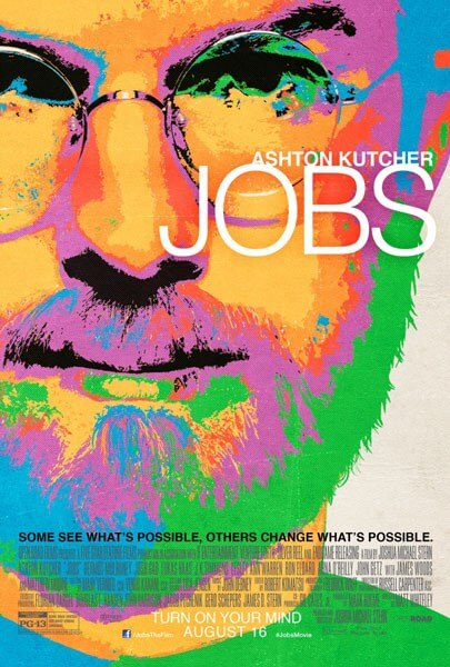 Jobs Movie Poster Starring Ashton Kutcher