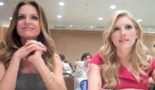 Katheryn Winnick and Jessalyn Gilsig Vikings Interview