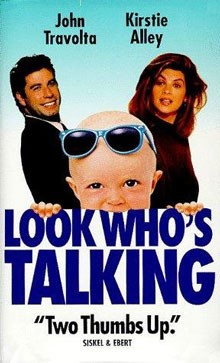 Look Who's Talking Starring John Travolta and Kirstie Alley