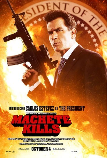 Machete Kills Carlos Estevez Poster