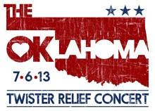 Oklahoma Twister Relief Concert 2013