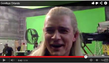 Orlando Bloom Sings Taking the Hobbits to Isengard