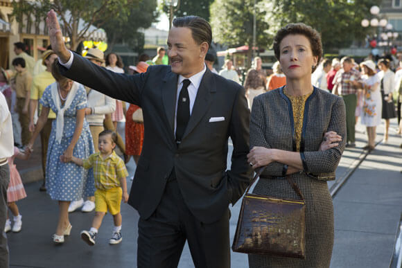 Producers Guild Nominee Tom Hanks and Emma Thompson in Saving Mr Banks