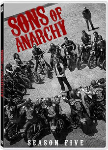 Sons of Anarchy Season 5 on DVD