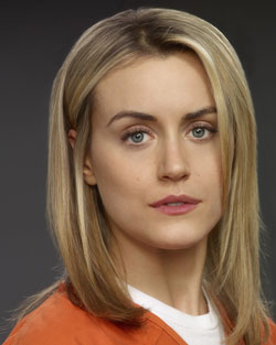 Taylor Schilling stars in Orange is the New Black