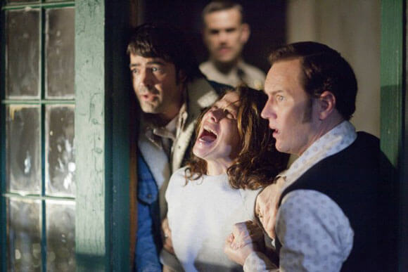 Ron Livingston, John Brotherton, Lily Taylor and Patrick Wilson in 'The Conjuring'