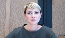 Valorie Curry The Following Interview