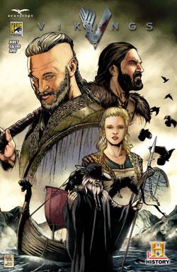 Vikings Comic Con Comic Book Cover