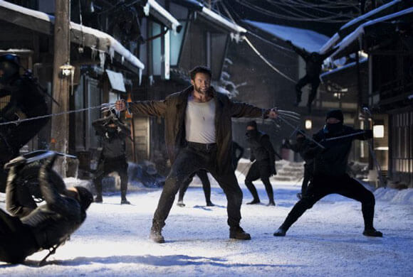 Hugh Jackman stars in 'The Wolverine'