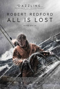 All is Lost Poster Starring Robert Redford