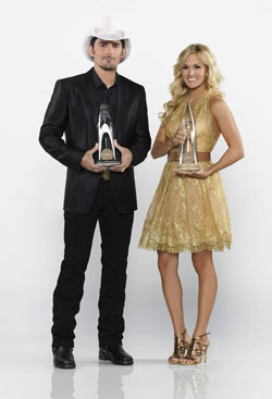 Brad Paisley and Carrie Underwood to host 'The 47th Annual CMA Awards'
