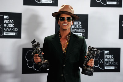 Bruno Mars 2013 MTV Video Music Awards