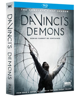 Da Vinci's Demons Blu-Ray Contest