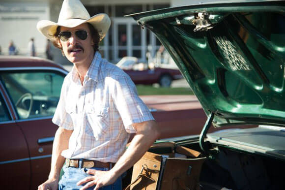 Matthew McConaughey in Dallas Buyers Club Trailer