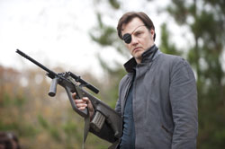 David Morrissey stars in Walking Dead and Line of Sight