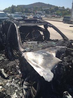 Dick Van Dyke Car Fire
