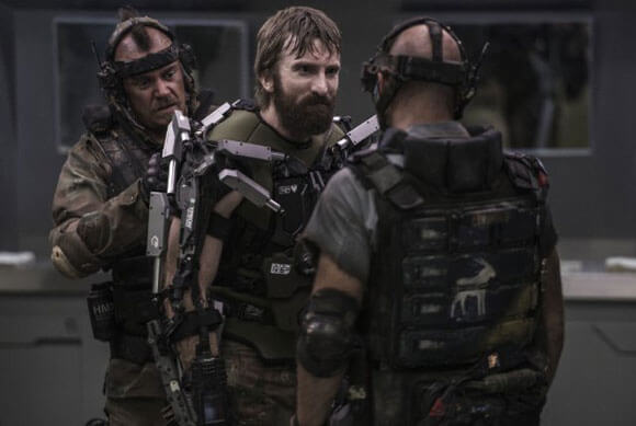 Elysium Movie Review Starring Sharlto Copley