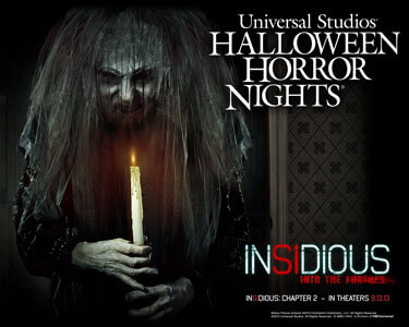 Halloween Horror Nights Insidious 2 Maze