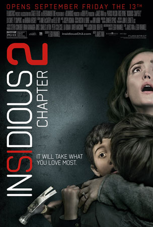 Insidious: Chapter 2 Final Movie Poster