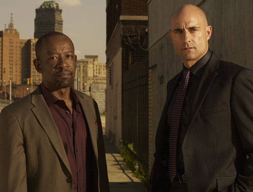 Lennie James and Mark Strong star in 'Low Winter Sun'