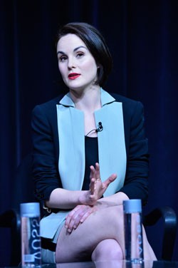 Michelle Dockery Downton Abbey Season 4 Interview
