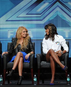 Paulina Rubio and Kelly Rowland The X-Factor Interview