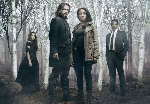 Katia Winters, Tom Mison, Nicole Beharie and Orlando Jones star in 'Sleepy Hollow'