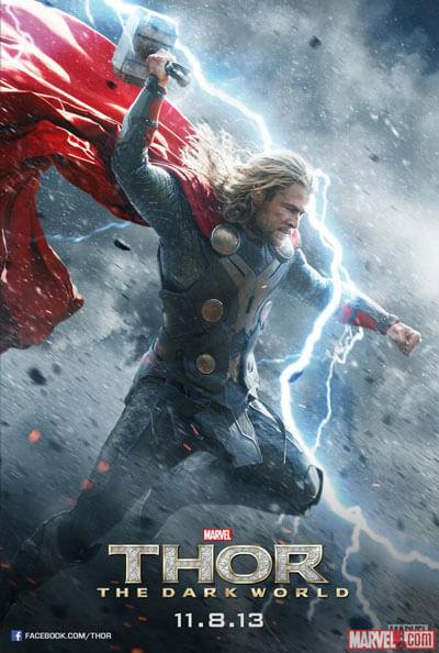 Thor The Dark World Chris Hemsworth Poster