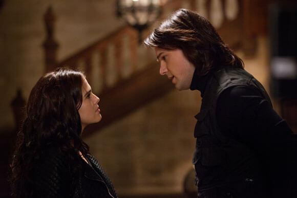Zoey Deutch and Danila Kozlovsky in 'Vampire Academy'