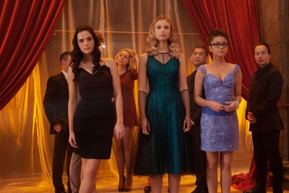 Zoey Deutch, Lucy Fry and Sarah Hyland in 'Vampire Academy'
