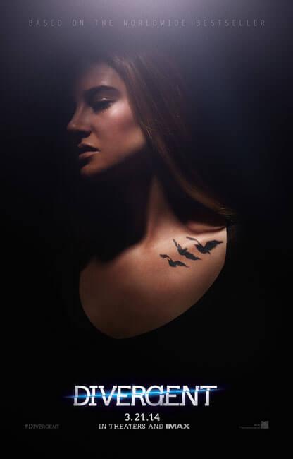 Shailene Woodley as Tris 'Divergent' Poster