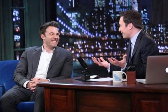 Ben Affleck Talks Batman with Jimmy Fallon