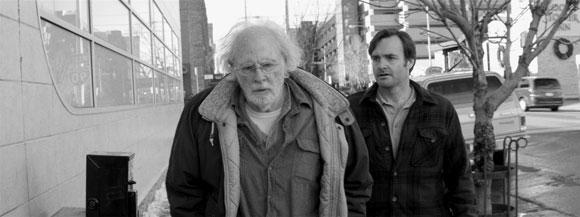 Bruce Dern and Will Forte in Nebraska Trailer