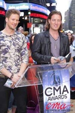 Brian Kelley and Tyler Hubbard 2013 CMA Awards Nominees