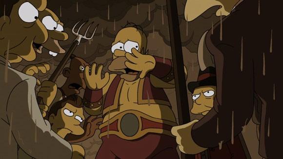 Treehouse of Horror Homer Simpson Photo