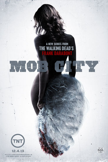 Mob City Season 1 Poster with Fan Dancer