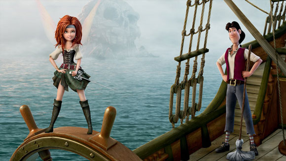 Zarin and James in The Pirate Fairy