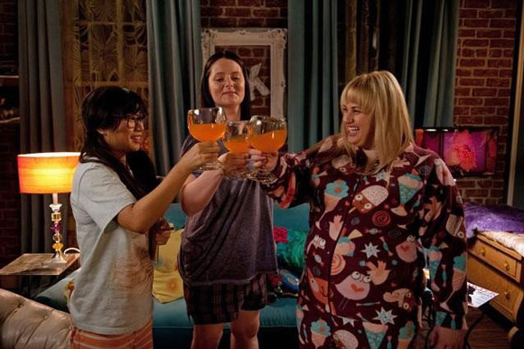 Liza Lapira, Lauren Ash, and Rebel Wilson star in Super Fun Night