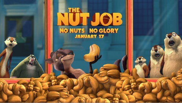 The Nut Job Teaser Trailer Poster