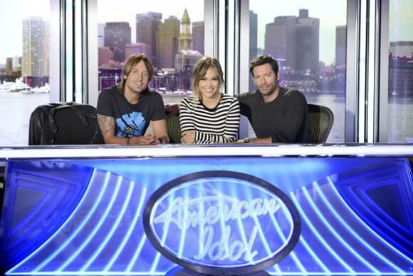 'American Idol' judges Keith Urban, Jennifer Lopez and Harry Connick Jr