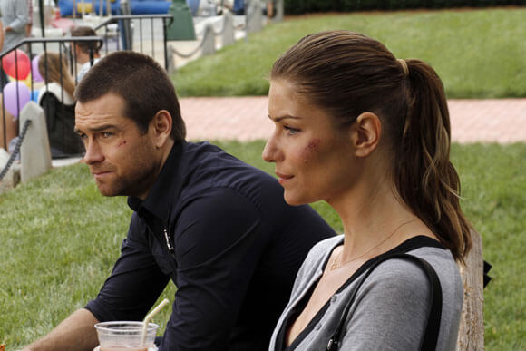 Antony Starr and Ivana Milicevic star in 'Banshee'