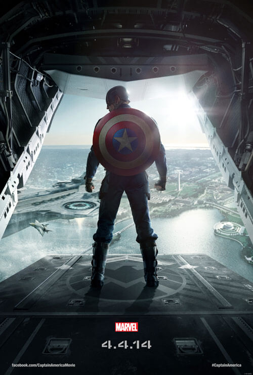 Captain America: Winter Soldier Official Teaser Poster