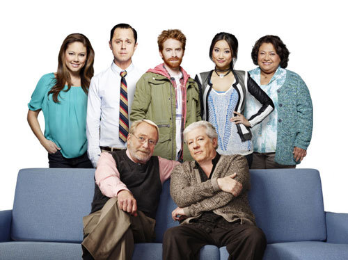 The cast of 'Dads'