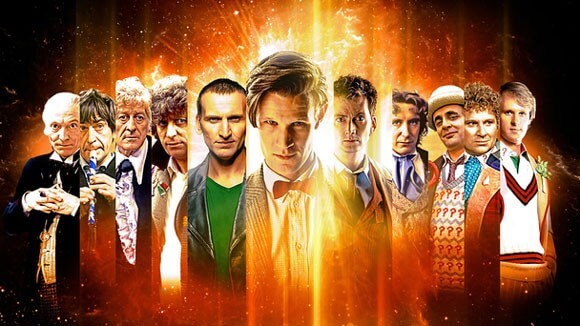 Doctor Who 50th Anniversary Characters