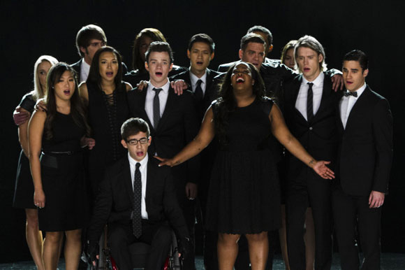 "The cast of 'Glee' perform ""Seasons of Love"""