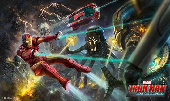 Iron Man Experience Concept Art