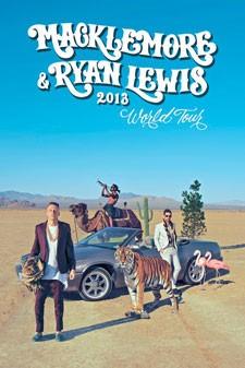 Macklemore and Ryan Lewis Tour Poster