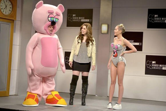 Miley Cyrus on SNL