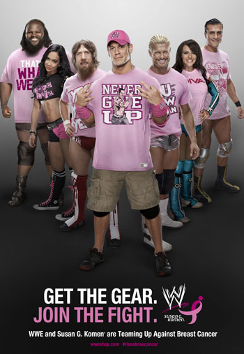WWE Pink Campaign