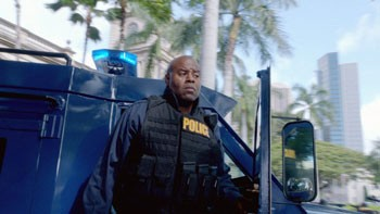 Chi McBride Stars in Hawaii Five-0